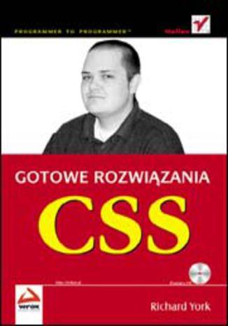 Okładka książki CSS. Gotowe rozwiązania