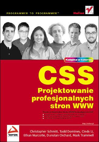 Okładka książki/ebooka CSS. Projektowanie profesjonalnych stron WWW