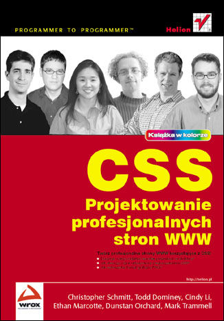 Okładka książki CSS. Projektowanie profesjonalnych stron WWW