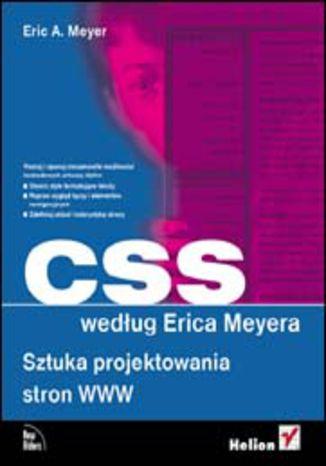 Okładka książki CSS według Erica Meyera. Sztuka projektowania stron WWW