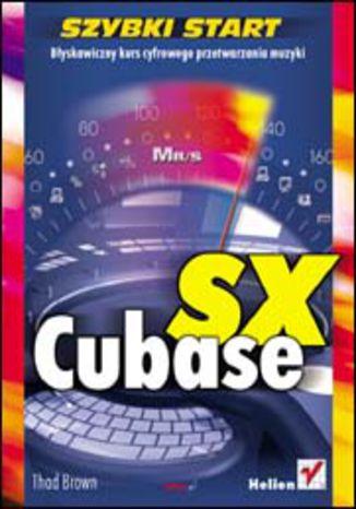 Okładka książki/ebooka Cubase SX. Szybki start