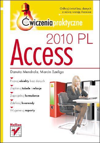 Okładka książki/ebooka Access 2010 PL. Ćwiczenia praktyczne