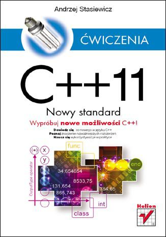 Okładka książki/ebooka C++11. Nowy standard. Ćwiczenia