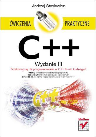 Okładka książki/ebooka C++. Ćwiczenia praktyczne. Wydanie III