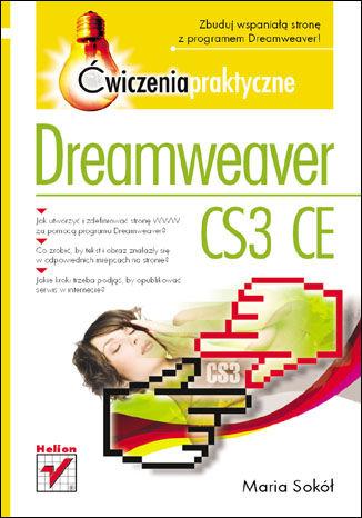 Okładka książki Dreamweaver CS3 CE. Ćwiczenia praktyczne