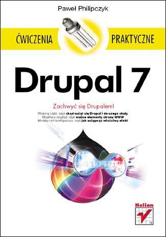 Okładka książki Drupal 7. Ćwiczenia praktyczne
