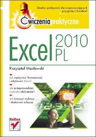 Okładka książki/ebooka Excel 2010 PL. Ćwiczenia praktyczne