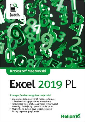Okładka książki Excel 2019. Ćwiczenia praktyczne