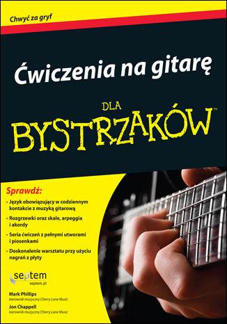 Okładka książki/ebooka Ćwiczenia na gitarę dla bystrzaków