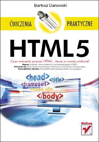 Okładka książki/ebooka HTML5. Ćwiczenia praktyczne