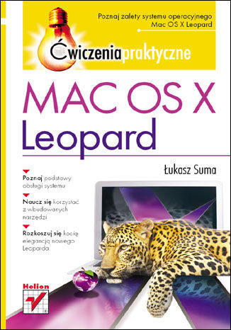 Okładka książki Mac OS X Leopard. Ćwiczenia praktyczne
