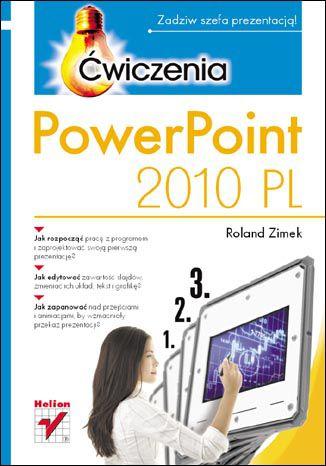 Okładka książki/ebooka PowerPoint 2010 PL. Ćwiczenia
