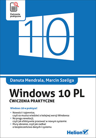 Okładka książki Windows 10 PL. Ćwiczenia praktyczne