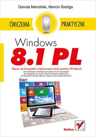 Okładka książki Windows 8.1 PL. Ćwiczenia praktyczne