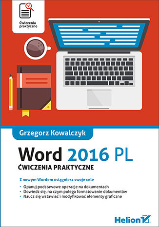 Okładka książki/ebooka Word 2016 PL. Ćwiczenia praktyczne