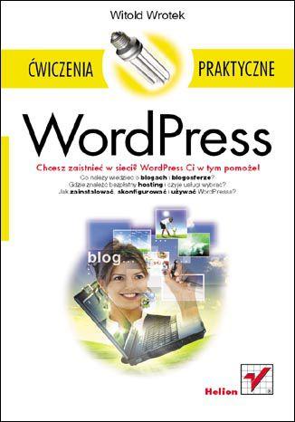 Okładka książki/ebooka WordPress. Ćwiczenia praktyczne