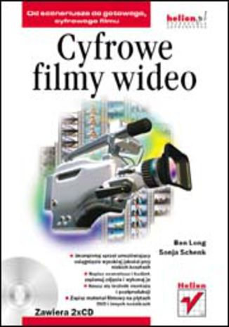 Okładka książki/ebooka Cyfrowe filmy wideo