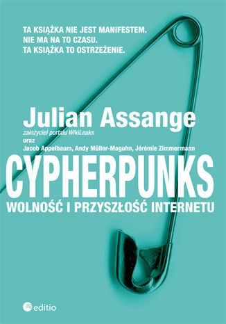 Okładka książki/ebooka Cypherpunks. Wolność i przyszłość internetu