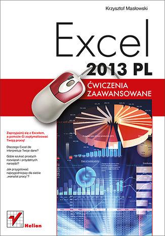 Okładka książki/ebooka Excel 2013 PL. Ćwiczenia zaawansowane
