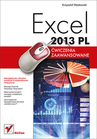 Okładka książki Excel 2013 PL. Ćwiczenia zaawansowane