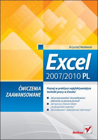 Okładka książki Excel 2007/2010 PL. Ćwiczenia zaawansowane