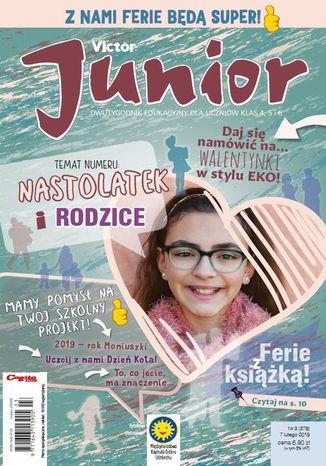 Okładka książki/ebooka Victor Junior nr 3 (379) 7 lutego 2019