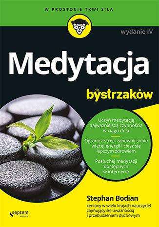 Okładka książki/ebooka Medytacja dla bystrzaków. Wydanie IV