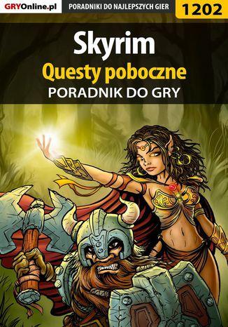 Okładka książki/ebooka Skyrim - questy poboczne - poradnik do gry