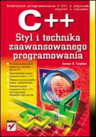 Okładka książki/ebooka C++. Styl i technika zaawansowanego programowania