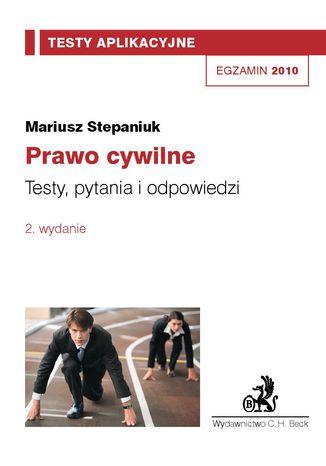 Okładka książki/ebooka Prawo cywilne. Testy, pytania i odpowiedzi Tom 1