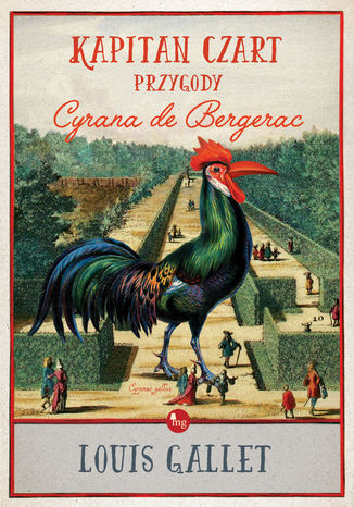 Okładka książki/ebooka Kapitan Czart, przygody Cyrana de Bergerac
