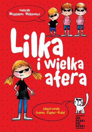 Okładka książki/ebooka Lilka i wielka afera