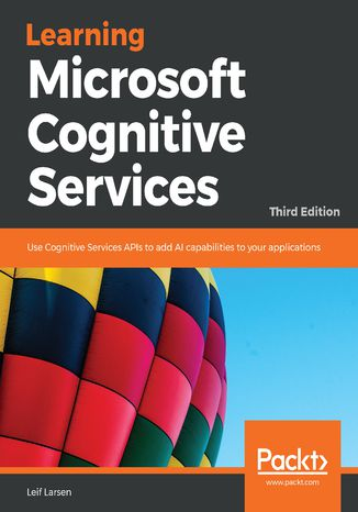 Okładka książki/ebooka Learning Microsoft Cognitive Services