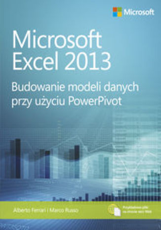 Okładka książki/ebooka Microsoft Excel 2013. Budowanie modeli danych przy użyciu PowerPivot
