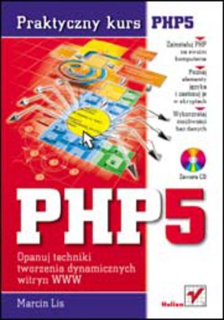 Okładka książki/ebooka PHP5. Praktyczny kurs