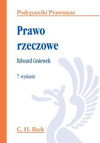 Okładka książki/ebooka Prawo rzeczowe