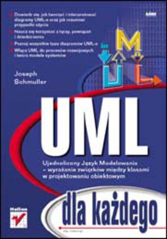 Okładka książki/ebooka UML dla każdego