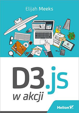 Okładka książki/ebooka D3.js w akcji