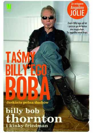 Okładka książki/ebooka Taśmy Billy'ego Boba. Jaskinia pełna duchów
