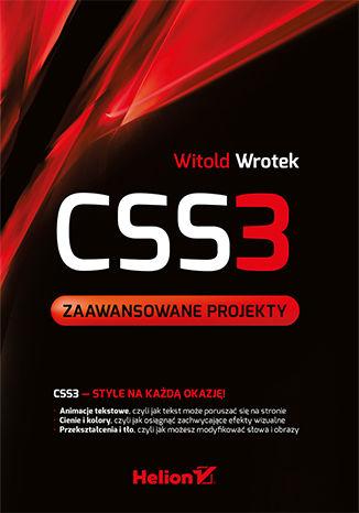 Okładka książki/ebooka CSS3. Zaawansowane projekty