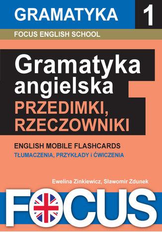 Okładka książki/ebooka Angielska gramatyka zestaw 1: przedimki i rzeczowniki