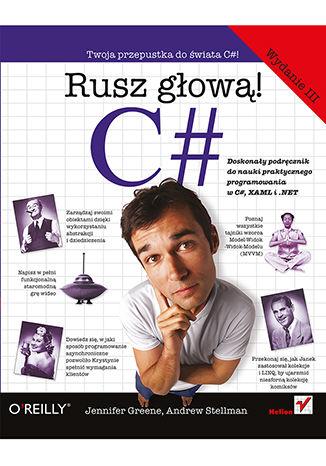 Okładka książki/ebooka C#. Rusz głową! Wydanie III