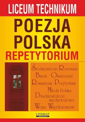 Okładka książki/ebooka Poezja polska. Repetytorium. Liceum, technikum