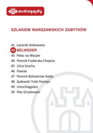 Okładka książki/ebooka Belweder. Szlakiem warszawskich zabytków