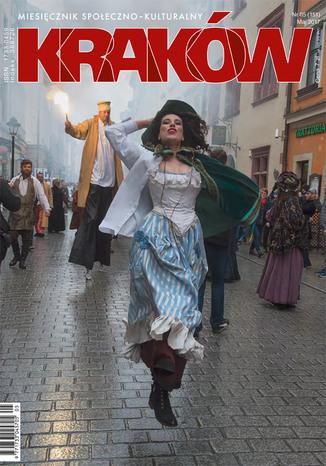 Okładka książki/ebooka Miesięcznik Kraków, maj 2017
