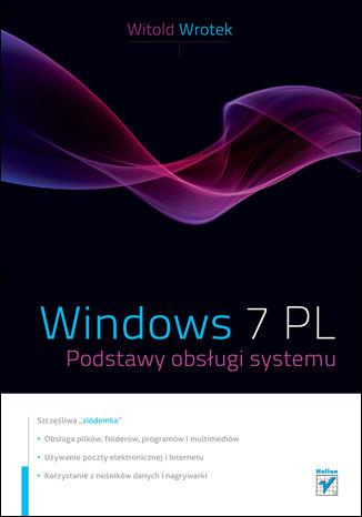 Okładka książki/ebooka Windows 7 PL. Podstawy obslugi systemu