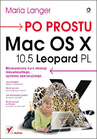 Okładka książki/ebooka Po prostu Mac OS X 10.5 Leopard PL