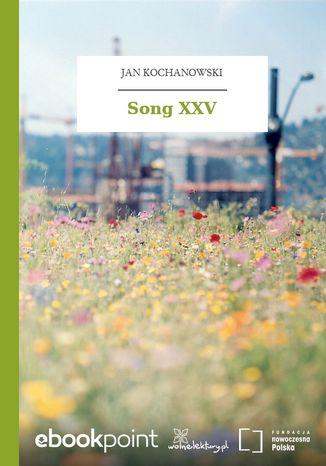 Okładka książki/ebooka Song XXV