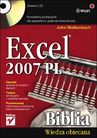 Okładka książki/ebooka Excel 2007 PL. Biblia