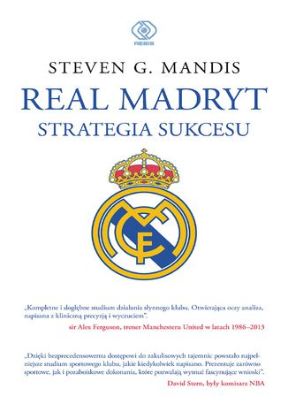 Okładka książki/ebooka Real Madryt. Strategia sukcesu